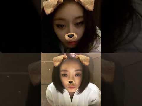 171107 Jiyeon + Eunjung (T-ARA) - Instagram live
