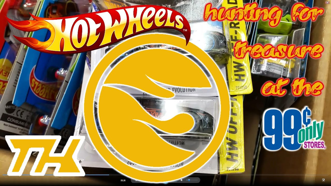 Hot Wheels Treasure Hunting At The 99 Cents Only Stores October 24