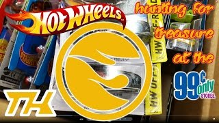 HOT WHEELS TREASURE HUNTING at the 99 cents only stores - October 24, 2015 SUPER TREASURE YAY!