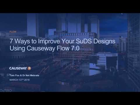 WEBINAR: 7 Ways To Improve Your SuDS Design. Causeway Flow.
