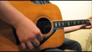 Bon Iver - Skinny Love (Acoustic Guitar Cover)