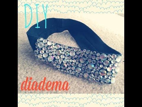 Como hacer una diadema diy youtube - Como hacer diademas ...
