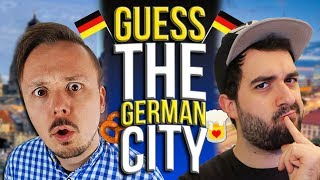 Guess THE GERMAN CITY CHALLENGE 🇩🇪 Big Cities In Germany Edition: GeoGuessr | Get Germanized