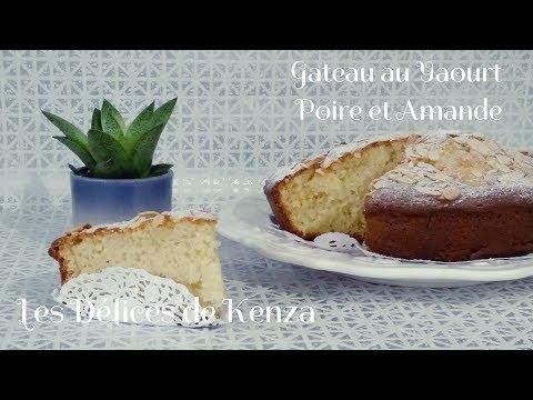 gâteau-au-yaourt-poire-et-amande-ultra-moelleux
