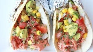 Salmon Tacos Recipe (citrus Brown Butter)