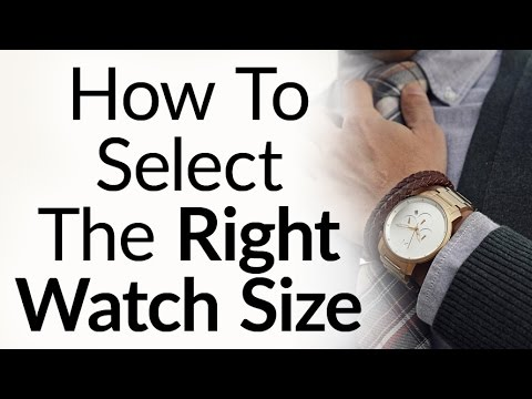 rules to buy the right size watch for your wrist proportions wristwatch case  band also rh youtube