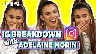 Adelaine Morin Looks at Old Pics With Matt, Bethany Mota, and More | IG Breakdown Video