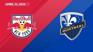 HIGHLIGHTS: New York Red Bulls vs. Montreal Impact | April 14, 2018