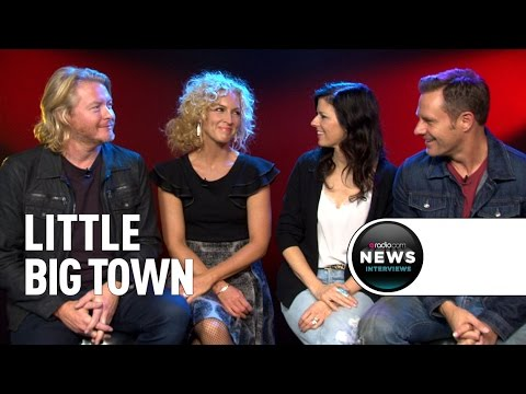Little Big Town Says New Album Truly Is a 'Pain Killer'