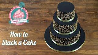 tiered cake tutorial