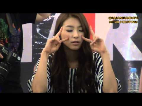 Sistar Bora funny dance and Funny moments 2013