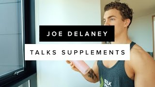 What BULK POWDERS® supplements does Joe Delaney use to make GAINS??