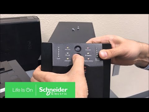 Performing Logic Reset on APC Smart-UPS SUA Series | Schneider Electric  Support