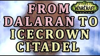 How to get from Dalaran to Icecrown Citadel WoW