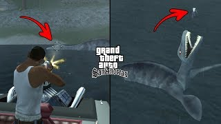 Secret Monster Location in GTA San Andreas! (Myths and Legends)
