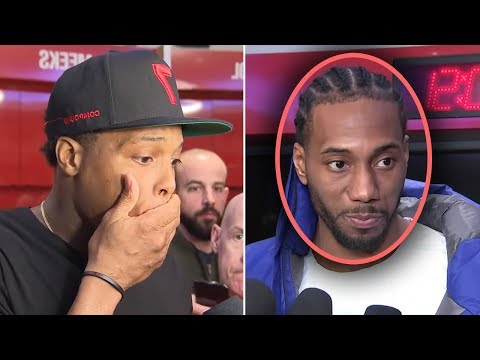 Kawhi Leonard Says I Want To Join THE LAKERS And Play WITH LEBRON And Kyle Lowry IS STUNNED