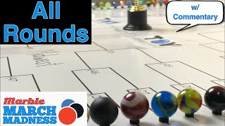 Worlds Largest Marble Race Tournament w/ 64 Marbles - All of Marble March Madness 2018 | Toy Racing