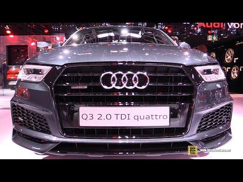 2017 Audi Q3 2.0 TDI Quattro - Exterior and Interior Walkaround - 2016 Paris Motor Show