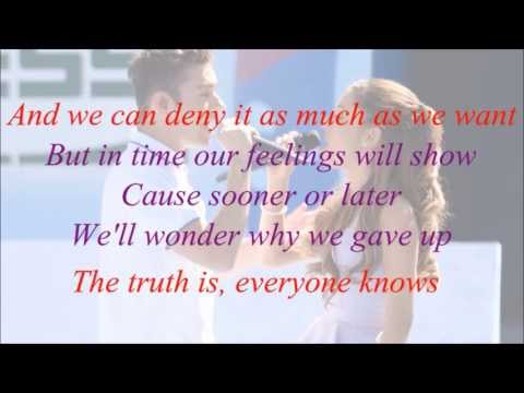 Ariana Grande feat. Nathan Sykes - Almost Is Never Enough (with Lyrics)