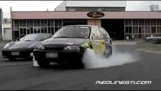 suzuki swift vs ferrari 360 spyder drag street racing