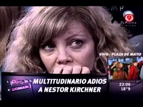 Duro de Domar - Multitudinario adiós a Néstor Kirchner en Casa Rosada 28-10-10