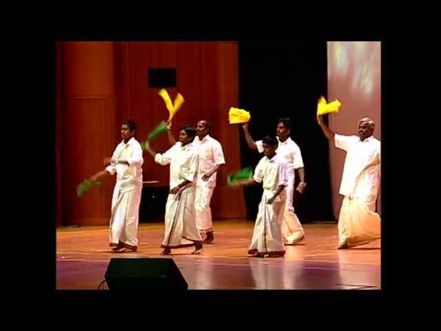 FETNA 2012 - நாட்டார் நடனம் - வடகரோலினா தமிழ்ச்சங்கம்