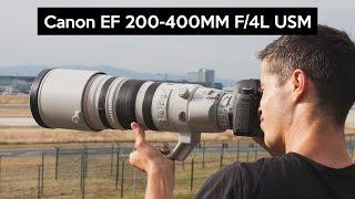 Canon EF 200-400mm F/4L IS USM telephoto lens review | 12K mega-zoom | Frankfurt Airport Spotting