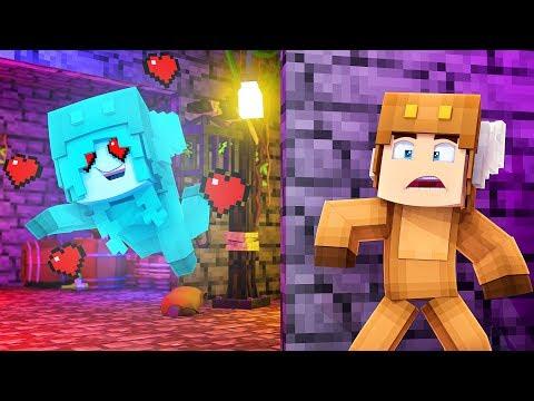 Minecraft Dayacare - BABY GHOST GIRLFRIEND KISS! w/ MooseCraft (Minecraft Kids Roleplay)