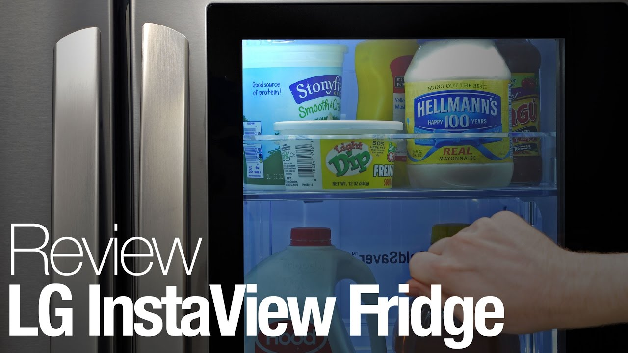 Lg Instaview Refrigerator Review Youtube