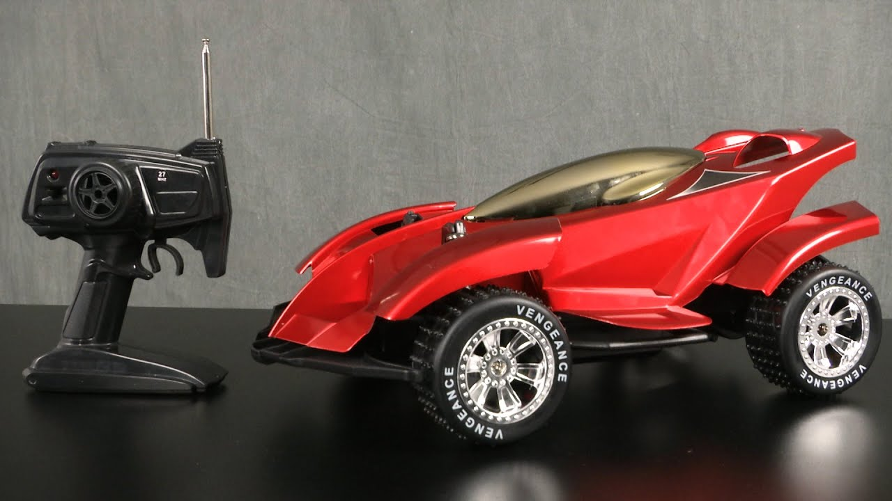 The Sharper Image Vengeance All Terrain Rc Race Car From