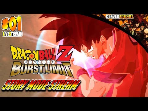 Dragon Ball Z: Burst Limit | Story Mode Live Stream