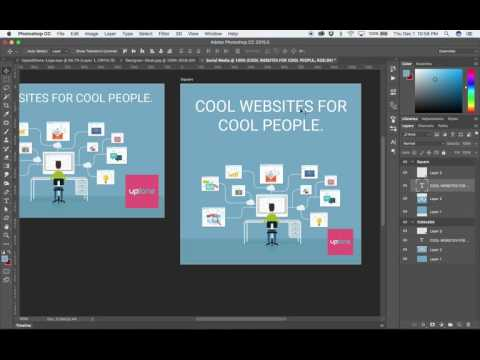 Use Artboards in Photoshop CC to Create Social Media Campaigns and More
