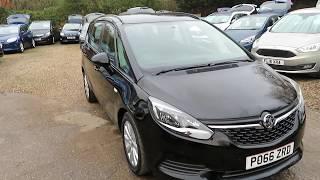 Vauxhall zafira tourer 1.4 turbo design automatic