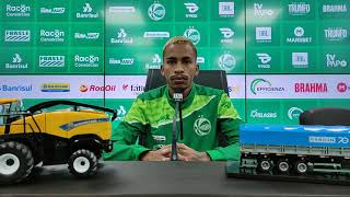 Entrevista coletiva Paulinho