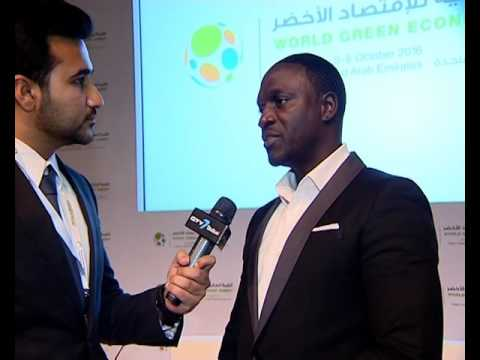 Lighting Africa -  Interview with Akon
