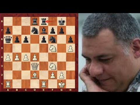Konstantin Landa Immortal Game! vs Evgeny Shaposhnikov - TCh-RUS 2005 -Caro-Kann Defense - Amazing