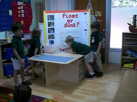 science fair on how objects float In this activity students will determine whether various objects sink or float in water.