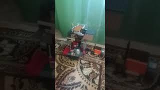 Лего дом и корабль и машина