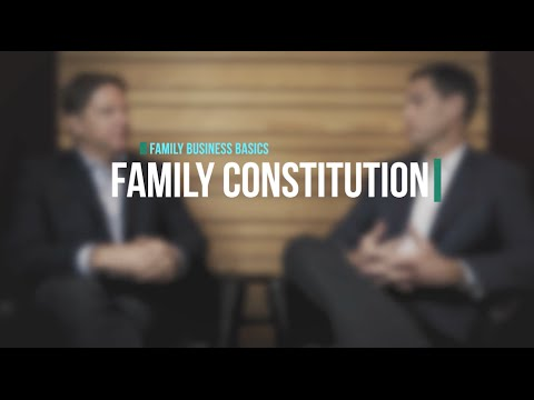 Family Constitutions