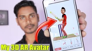 Amazing Augmented Reality 3D Avatar App For Any Android & IOS Phone | Best AR Apps 👍