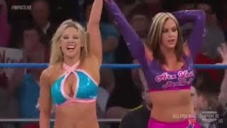 Knockouts Q&A The Beautiful People - Taryn Terrell Return - Kelly Kelly to TNA - Fail Kim - Shanna