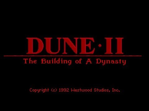 Dune 2 (PC/DOS) Complete Soundtrack 'Roland SCC-1 GM/GS soundcard