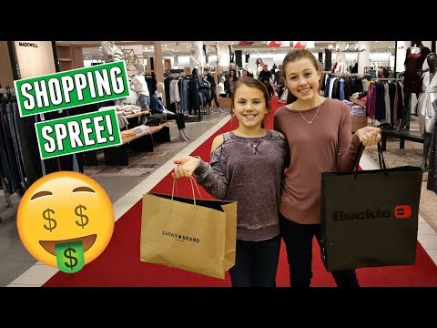 BACK TO SCHOOL TEEN AND TWEEN CLOTHES SHOPPING TRIP VLOG