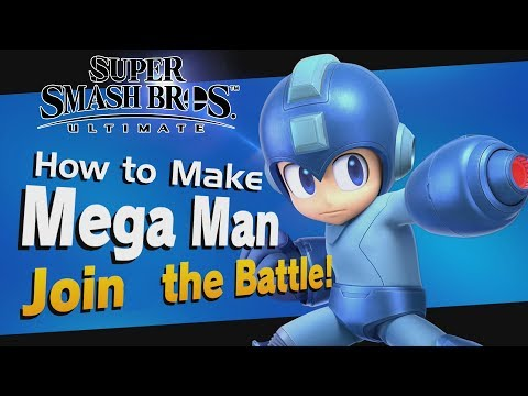 Super Smash Bros. Ultimate - 3 Ways to Unlock Mega Man! (Including How to Unlock in World of Light)