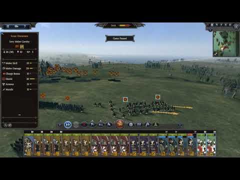 Total War Saga: Thrones of Britannia - Slaughtering a rival horde (strategy)  