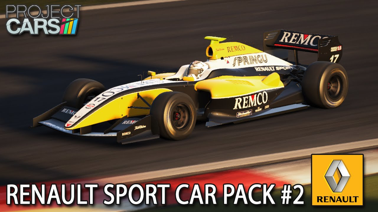 Renault Sport Car Pack #2 | Project CARS [HD] [GER] Megane Trophy V6 U0026  Formula Renault 3.5