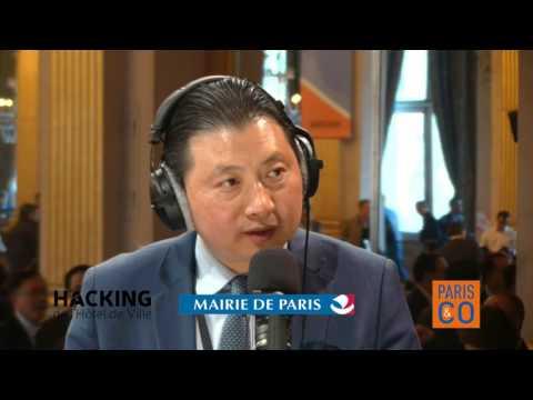 Interview by Le Tribune at Paris City Hall