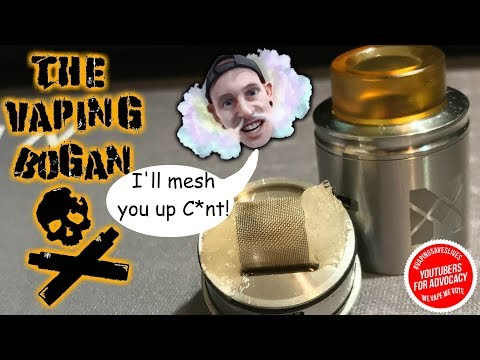 Vandy Vape Mesh RDA + Build Tutorial | Now This is Something Different | The Vaping Bogan