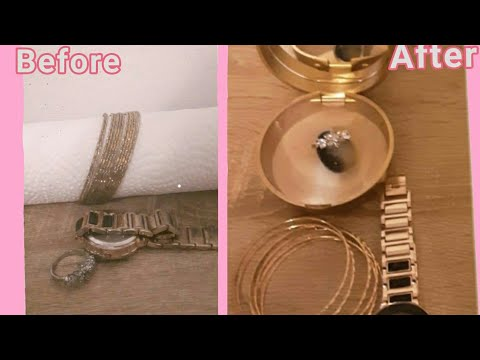 How to Clean Silver gold and Watche Jewelry at home. شستشوی جواهرات در خانه با کرم دندان
