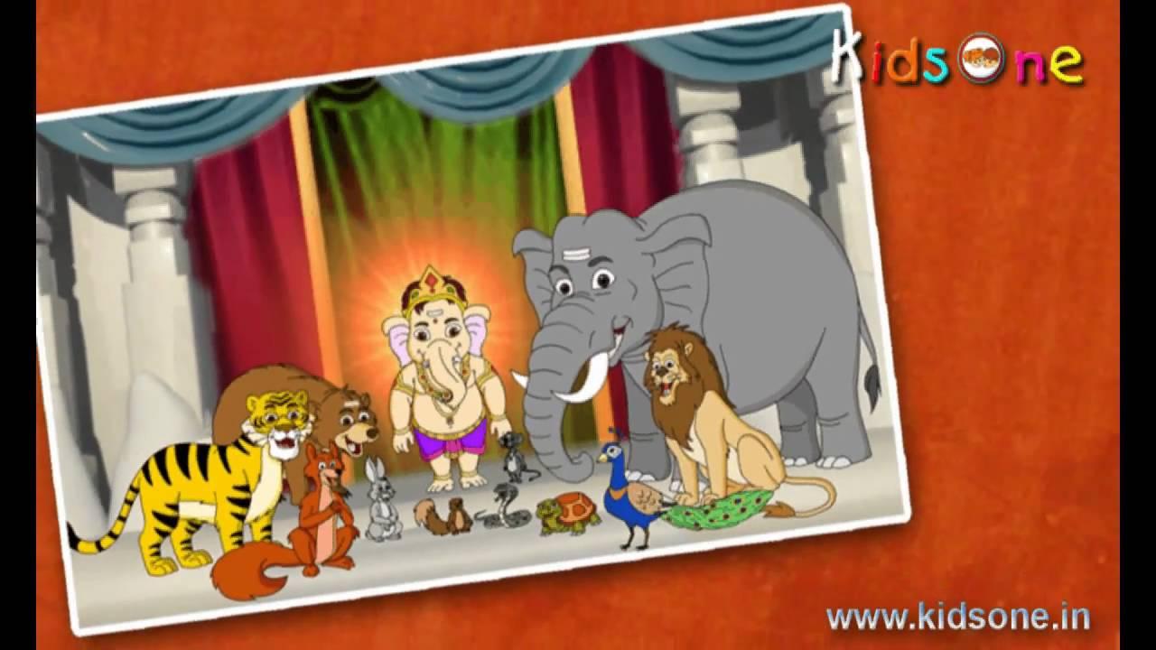 Lord Ganesh Animation Happy Ganesh